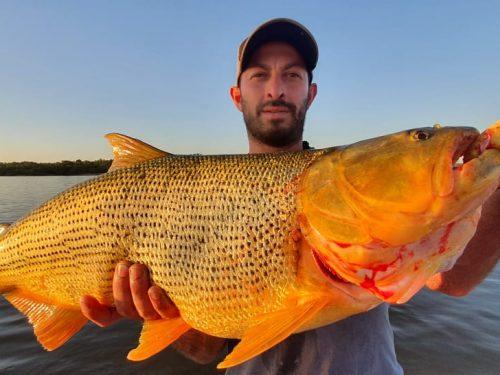 Pesca de miercoles 9/12 con los pibes de gualeguaychú a puro trolling !!!